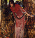 Waterhouse John William Study For The Lady Of Shallot