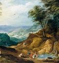 MOMPER Joos de Extensive Mountainous Landscape