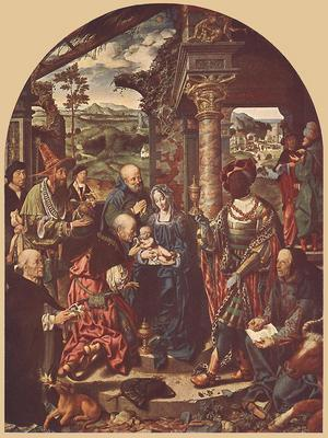 CLEVE Joos van Adoration Of The Magi