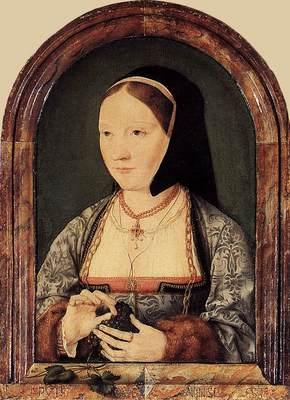 CLEVE Joos van Portrait Of Agniete Van Den Rijne