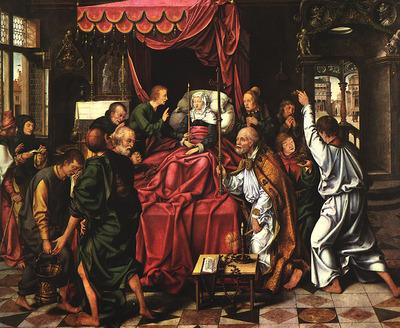 CLEVE Joos van The Death Of The Virgin
