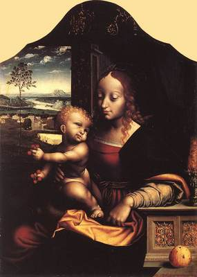 cleve joos van virgin and child