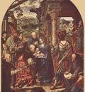 CLEVE Joos van Adoration Of The Magi