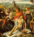 CLEVE Joos van Altarpiece Of The Lamentation central