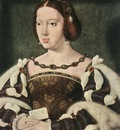 CLEVE Joos van Portrait Of Eleonora Queen Of France