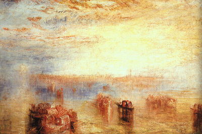 turner joseph approach to venice