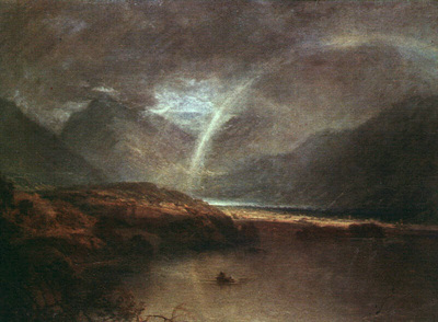 Turner Joseph Buttermere Lake A Shower