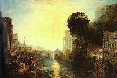 Turner Joseph Dido Building Carthage The Rise of the Carthaginian Empire