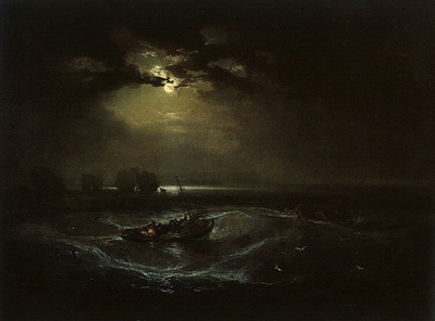 Turner Joseph Fishermen at Sea The Cholmeley Sea Piece