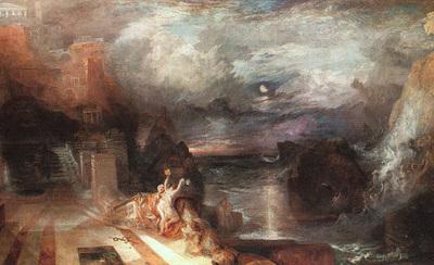 Turner Joseph Hero and Leander