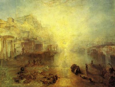 Turner Joseph Mallord William Ancient Italy Ovid Banished from Rome