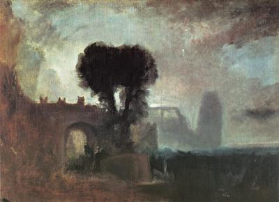 Turner Joseph Mallord William Archway with Trees by the Sea
