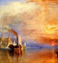 Turner Joseph Mallord William The fighting Temeraire tugged to her last Berth to be broken up