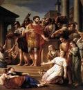 VIEN Joseph Marie Marcus Aurelius Distributing Bread To The People