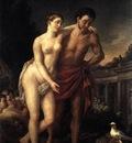 VIEN Joseph Marie Venus Showing Mars Her Doves Making A Nest In His Helmet