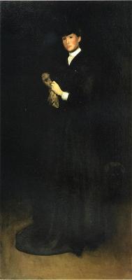 DeCamp Joseph Arrangement in Black No  8 Portrait of Mrs  Cassatt