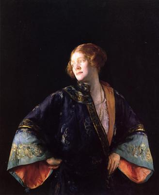 DeCamp Joseph The Blue Mandarin Coat aka The Blue Kimono