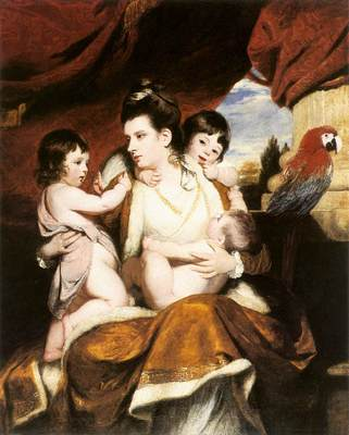 Lady Cockburn and her 3 eldest sons EUR