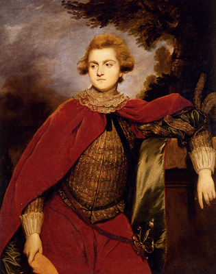 Reynolds Joshua Portrait Of Lord Robert Spencer