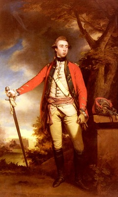 Reynolds Sir Joshua Portrait Of George Townshend Lord Ferrers