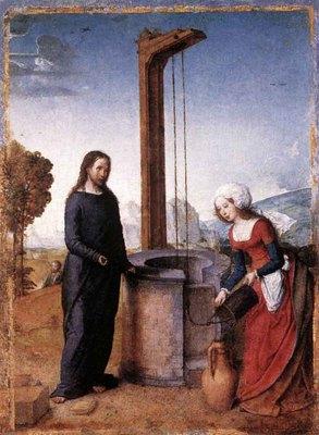 JUAN DE FLANDES Chrsit And The Woman Of Samaria