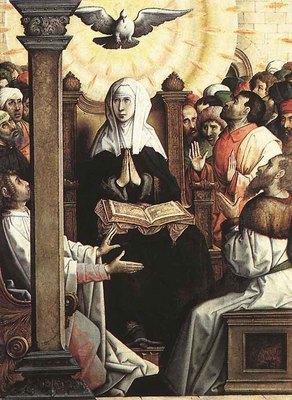 JUAN DE FLANDES Pentecost
