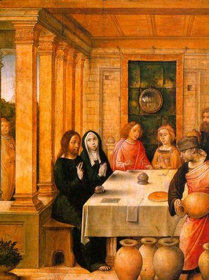 JUAN DE FLANDES The Marriage Feast At Cana