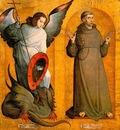 JUAN DE FLANDES Saints Michael And Francis