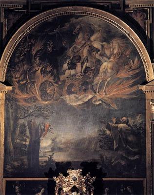 VALDES LEAL Juan de Ascension Of Elijah