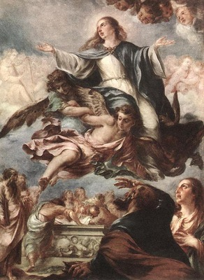 VALDES LEAL Juan de Assumption Of The Virgin