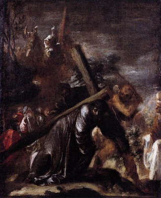 VALDES LEAL Juan de Carrying The Cross