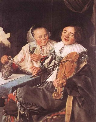 LEYSTER Judith Carousing Couple