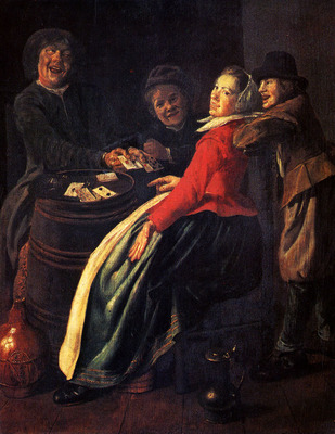 Leyster Judith A Game Of Cards