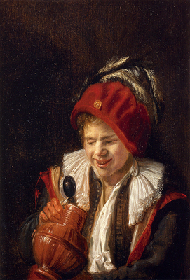 Leyster Judith Kannekijker A Youth With A Jug