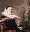 LEYSTER Judith Self Portrait