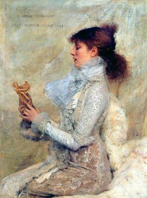 bastien lepage jules portrait of sarah bernhardt