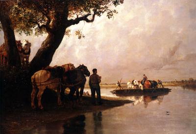 Jules Jacques Veyrassat Passe Cheval Pour les Chevaux de