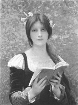 Lefebvre Jules Joseph Liseuse