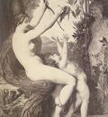 Lefebvre Jules Joseph nymph et bacchus