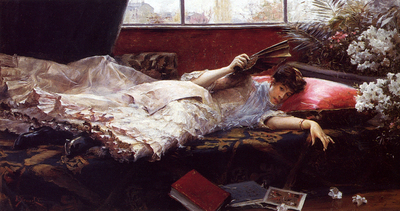 Stewart Julius LeBlanc An Idle Afternoon