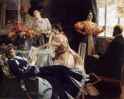 Stewart Julius LeBlanc At Home