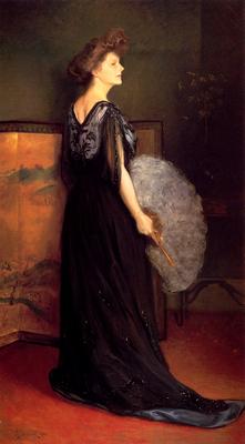 Stewart Julius LeBlanc Portrait Of Mrs Francis Stanton Blake