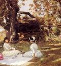 Stewart Julius LeBlanc Picnic Under The Trees
