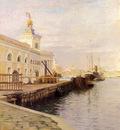 Stewart Julius LeBlanc View Of Venice