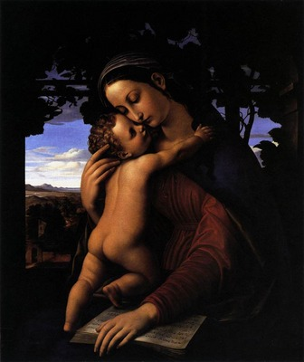 SCHNORR VON CAROLSFELD Julius Madonna And Child