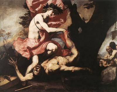 Ribera Apollo Flaying Marsyas