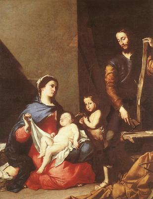 Ribera The Holy Family