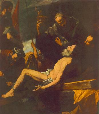 Ribera The Martyrdom of St Andrew
