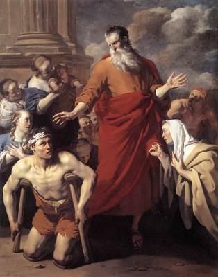 DUJARDIN Karel St Paul Healing the Cripple at Lystra