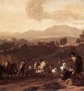 DUJARDIN Karel Landscape in the Roman Campagna
